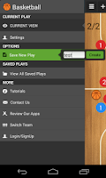 Screenshot of Basketball coach's clipboard