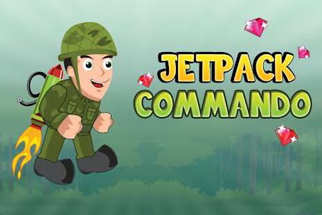 Jetpack Commando - Fun Game - screenshot