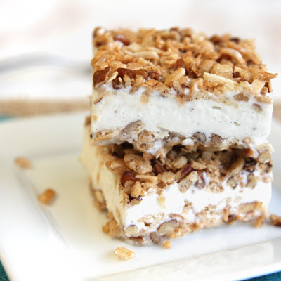 Ice Cream Crunch Bars