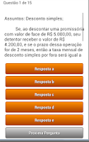 Screenshot of Quiz Questoes Conc Publico