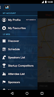 LeWeb 2014 - screenshot