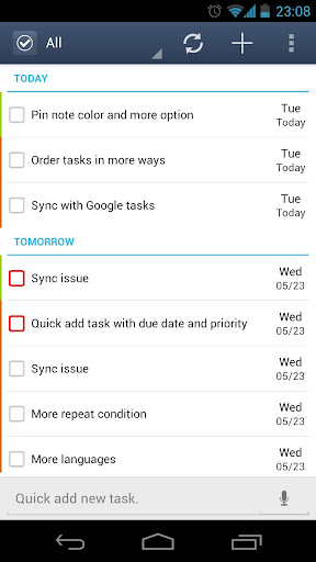 gtasks-to-do-list-task-list for android screenshot