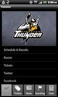 Screenshot of Stockton Thunder