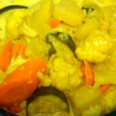 Sayur Lodeh - Malaysian Vegetable Curry (Crock Pot)