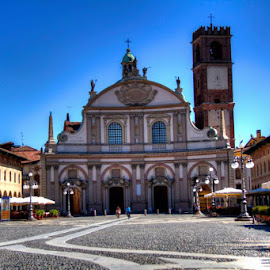 Piazza Ducal, Vigevano Pavia, Italy by Jessica Sacavage - Buildings & Architecture Public & Historical (  )