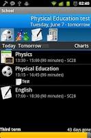 Screenshot of School Assistant