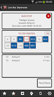 Screenshot of London Bus Master + Countdown