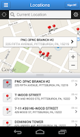 Screenshot of PNC Mobile