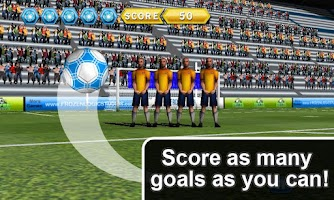 Screenshot of Soccer Free Kicks