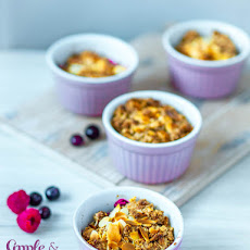 Apple & Berries gluten-free crumble