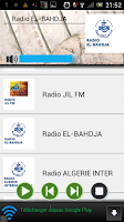 Screenshot of Algerie Live Radio