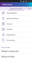 Screenshot of MyProximus
