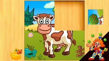 Screenshot of Funny Farm Puzzle for kids