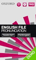 Screenshot of English File Pron Demo