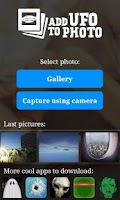 Screenshot of UFO in photo