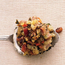 Black-Eyed Pea and Cornbread Stuffing
