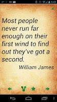 Screenshot of Sports Quotes