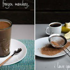 'Frozen Monkey' Coffee Chocolate Banana Smoothie