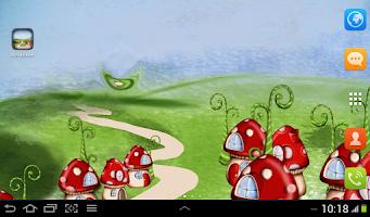 Screenshot of Wonderland Live Wallpaper