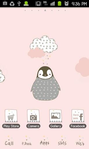 Pepe-cloud GO Launcher theme