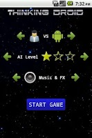 Screenshot of Thinking Droid