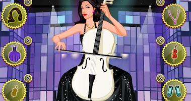 Screenshot of Top stylist – dressup musician