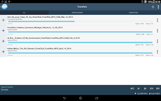Screenshot of FrostWire - File Downloader