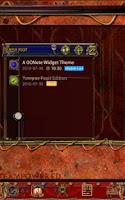 Screenshot of Steampunk Tempus Fugit GO Note