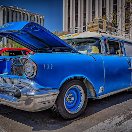 Two Toned Wagon by Ron Meyers - Transportation Automobiles