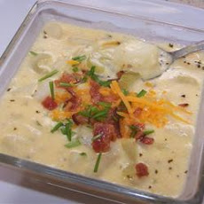 Nikki's Creamy Crock Pot Potato Soup