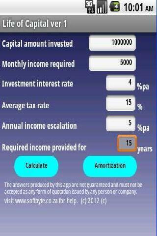 Life of Capital