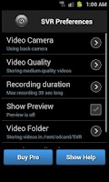 Screenshot of Secret Video Recorder
