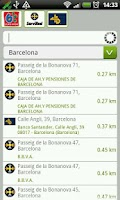Screenshot of ATMs Barcelona