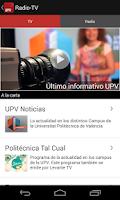 Screenshot of UPV - Politècnica de València