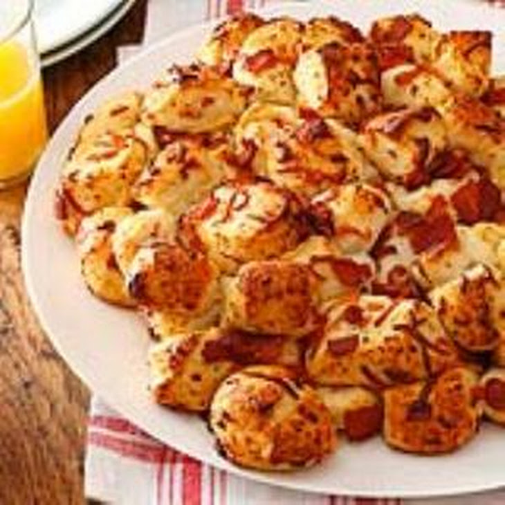 Pull-Apart Bacon Bread