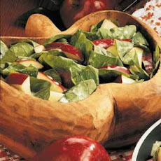 Apple Spinach Salad with Versatile Dressing