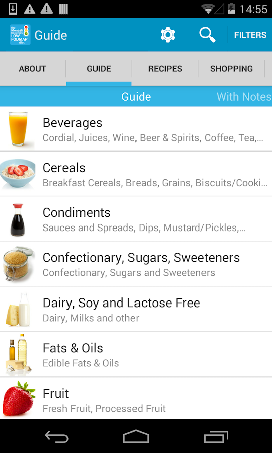 The Monash Uni Low FODMAP Diet Screenshot 1