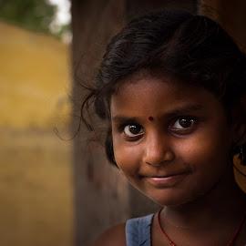by Ganesh Kumar Murugesan - Babies & Children Child Portraits ( canon, face, girl, smile, portrait )