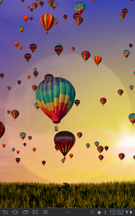 Hot Air Balloons Wallpaper Screenshot 12