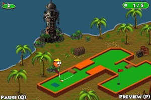 Screenshot of Putt Putt Golf