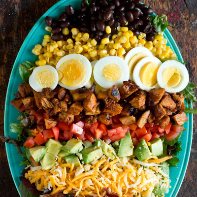 BBQ Chicken Cobb Salad