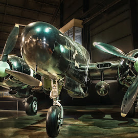 Northrop Black Widow by Paul Zeinert - Transportation Airplanes ( ohio, dayton, prop, museum, war ii, usaf, usa, birds, war )