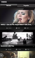 Screenshot of Adele