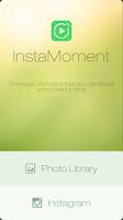 Screenshot of InstaMoment InstagramSlideshow