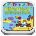 Birthday Party Invitation Card icon