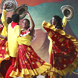 Celebrating heritage by William Lanza - News & Events Entertainment ( dancers, native, elegance, colonial, rhythm, celebration, dance, heritage, culture )