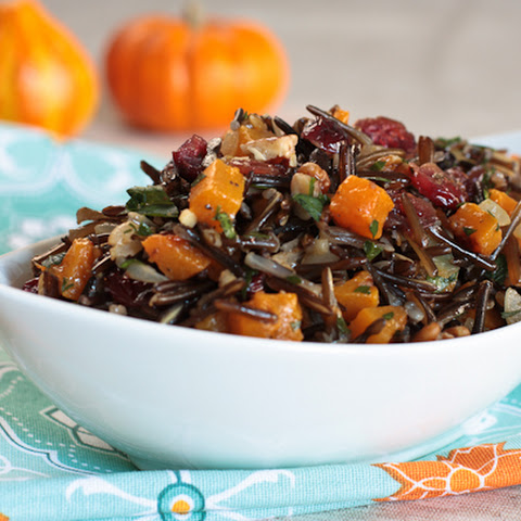 Wild Rice Salad with Cranberries and Pecans Recipe | Yummly
