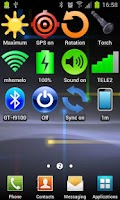 Screenshot of Widget Signal Strength