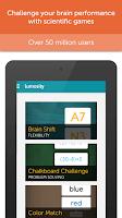 Screenshot of Lumosity
