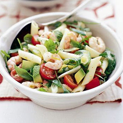 Prawn & Avocado Pasta Salad
